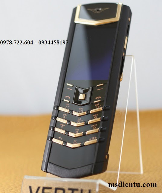 địa chỉ bán Vertu Signature S Design Black copy giá rẻ