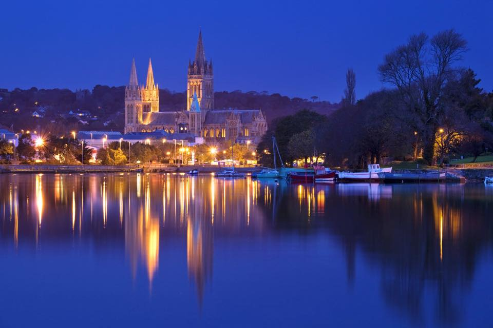 Truro City At Night