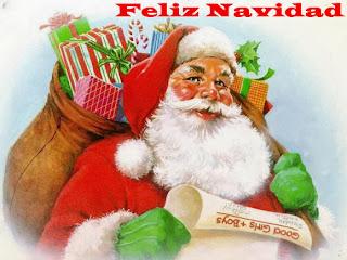 Tarjetas de Feliz Navidad con Santa