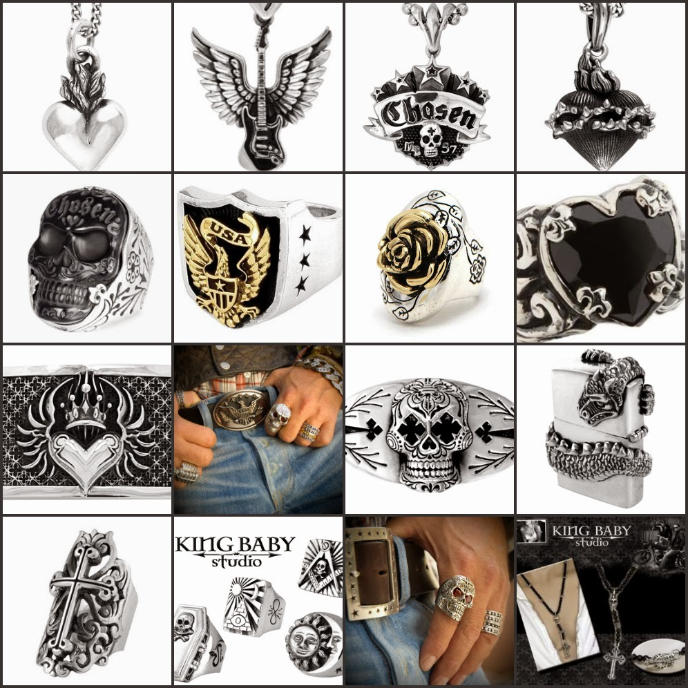 King Baby Jewelry, accessories, apparel, eyewear.