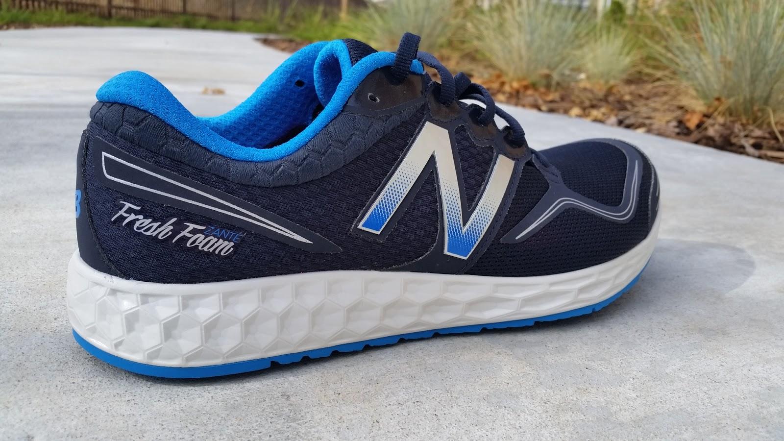 New Balance Fresh Foam Zante - Black/ Blue