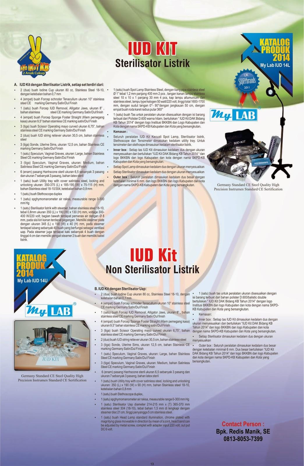 UD Kit BKKbN 2014 - PENJUAL ALAT KESEHATAN IUD KIT DAK BKKbN 2014~Rab iud kit bk kb n 2014