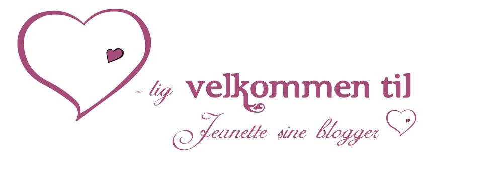 Jeanette sine blogger