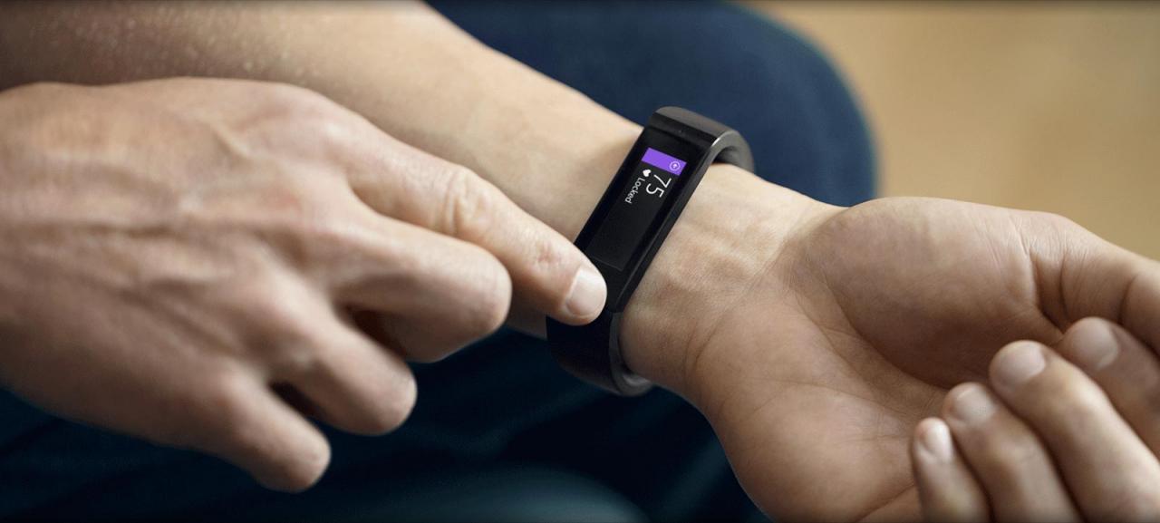 Đồng hồ Microsoft Band