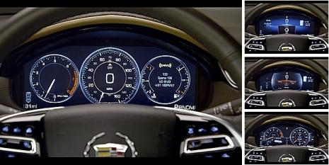 Cadillac xts 2013 panel