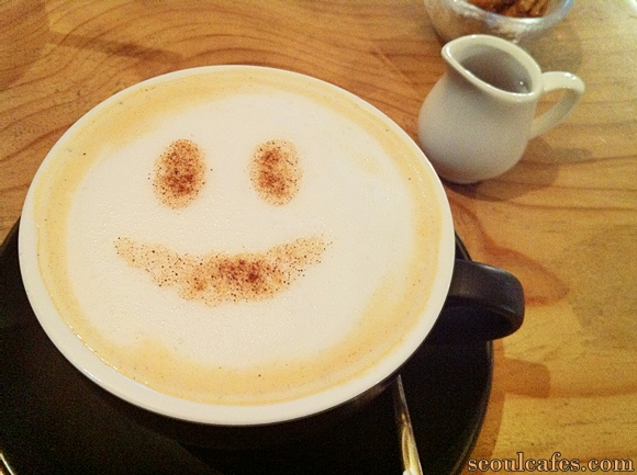 coffee smile korea cafe seoul