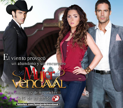 Poster de La Mujer del Vendaval (telenovelas )