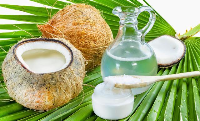 olio di cocco, proprietà. burro di cocco, ingrediente cosmetico, usi dell'olio di cocco,