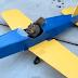 Una ardilla se roba avioneta