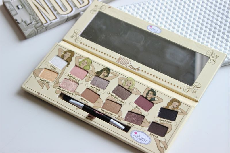 The Balm Nude'tude Nude Eyeshadow Palette