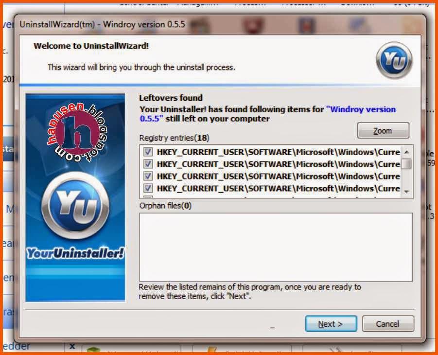 Tidak bisa menghapus program di PC atau Laptop