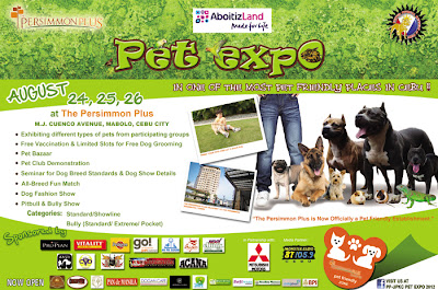 Pet Expo at The Persimmon Plus