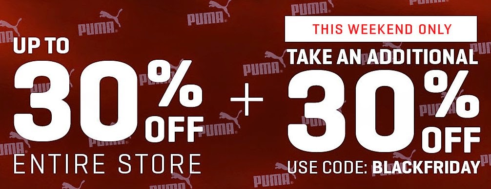 PUMA BLACK FRIDAY SALE