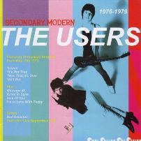 "THE USERS - ""Secondary Modern"" (CD, Bin Liner Records - 2008)"