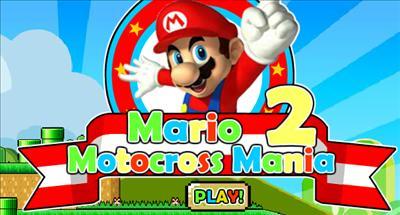Mario Mania Motocross 2