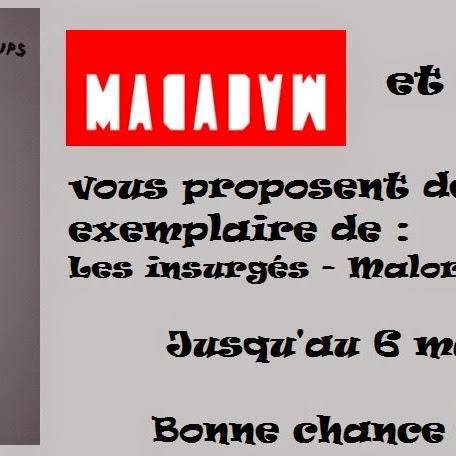 [Concours] Les insurgés de Malorie Blackman - jusqu'au 6 mai