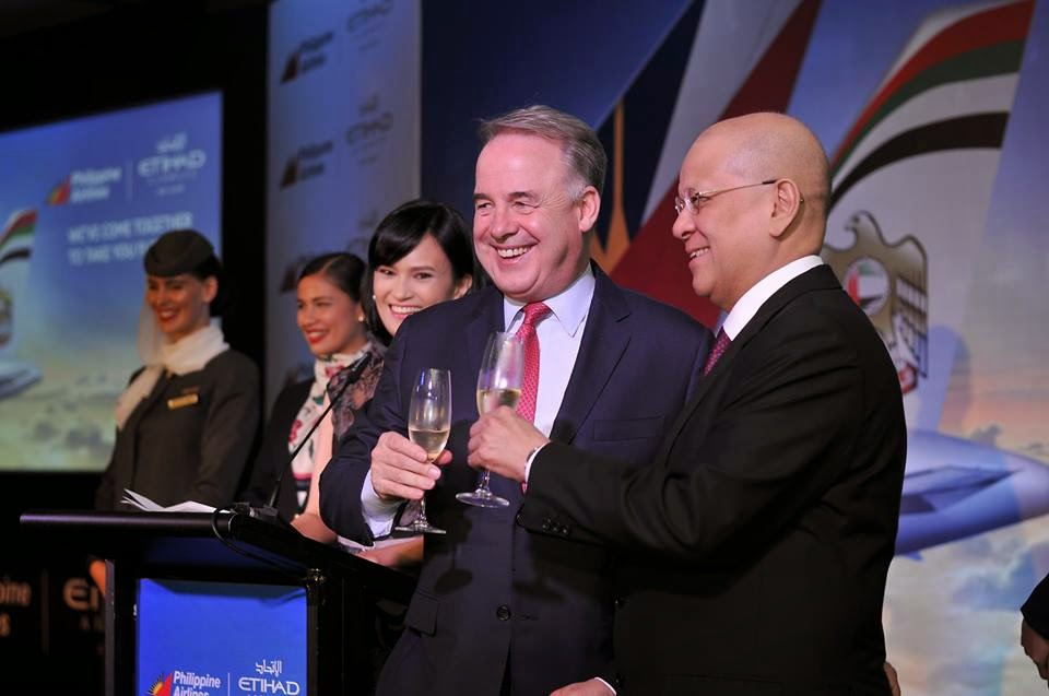Philippine Airlines and Etihad Airways Sign Strategic Partnership