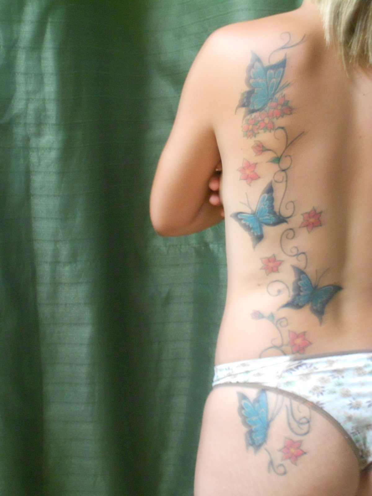 Butterfly Waist Tattoos