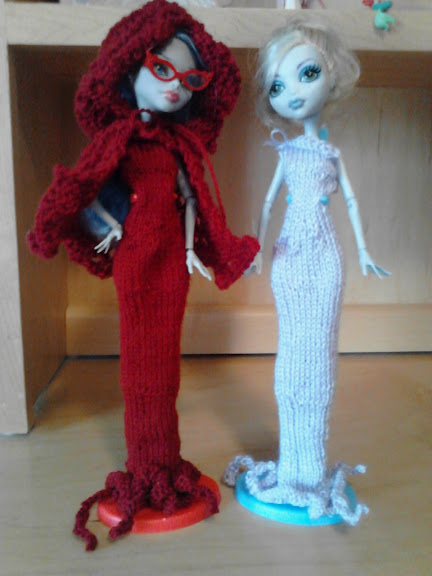 The Pixie House: Monster high knitting pattern