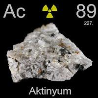 Aktinyum Elementi Simgesi Ac