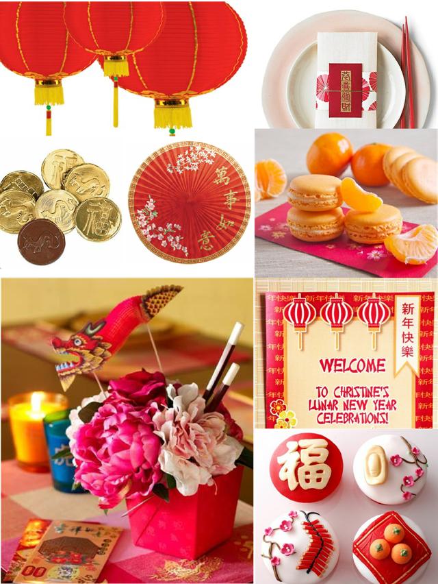 Idées Party pour Le Nouvel An Chinois