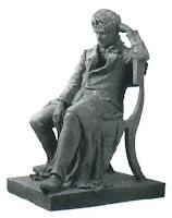 estátua do matemático noruegues abel henrik