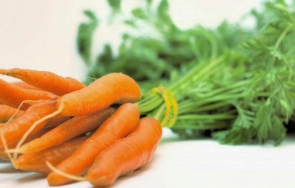 Cà rốt có công dụng chữa trị tàn nhang hiệu quả