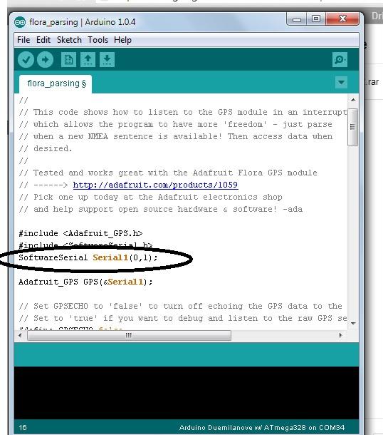 Arduino gps tracker open source codes
