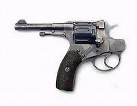 Backwards pointing gun