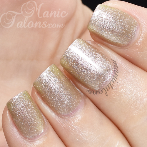 Pink Gellac Golden Rose Swatch