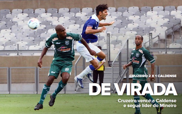 Cruzeiro 2 x 1 Caldense