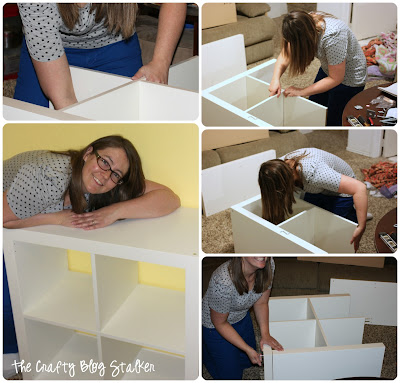 Building Ikea Expedit Shelves