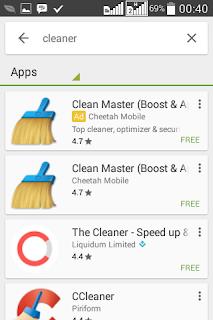 Kelemahan Clean Master