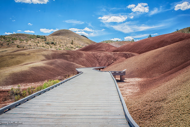 Painted hills Mitchell Oregon John day fossil beds national monument Bend Oregon Central Oregon Eastern Oregon summer hiking Jaime Weatherford