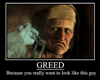 Greed pays dividends