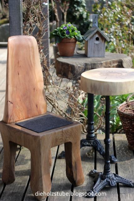 Garten-Bistrotisch + Stuhl