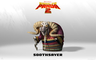 Soothsaver  Kungfu Panda 2 Movies Wallpaper