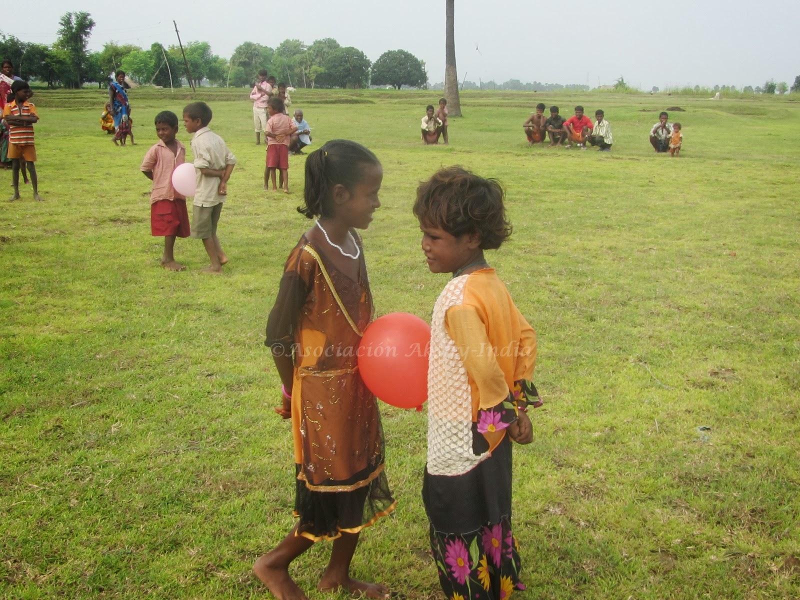 Akshy india diversi n en el centro infantil en jaitiya - Actividades para ninos al aire libre ...