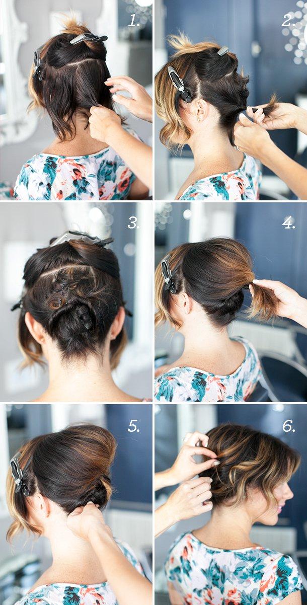Lindos tutoriales de peinados a la moda | Paso a paso en belleza
