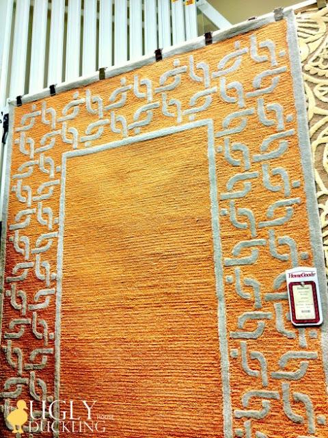 new orange rug