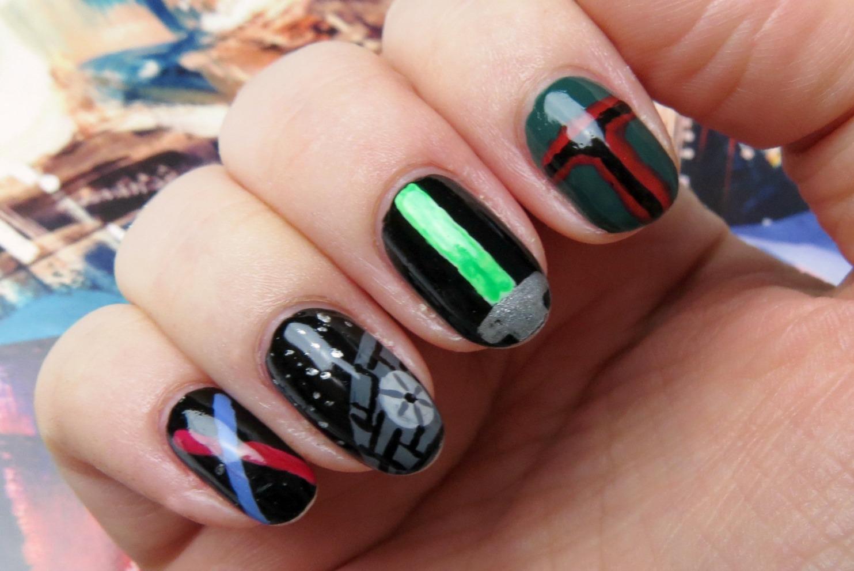 Star Wars Nail Art Design - Mani Monday: Star Wars Edition! Kaitlyn Elisabeth Beauty