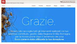 Terremoto Emilia 2012: donazioni