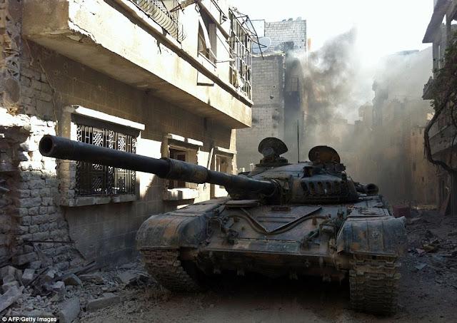 Keadaan Homs Bandar Di Syria Sekarang