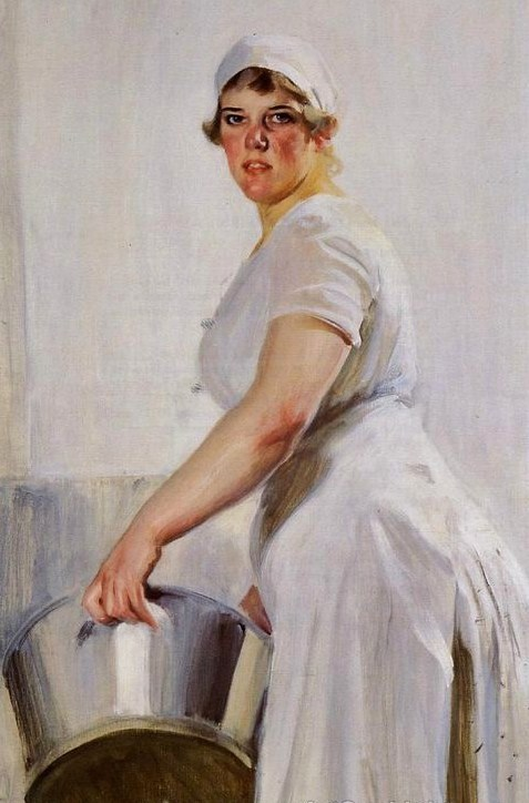Brilliant The Kitchen Maid Painting 477 x 724 · 71 kB · jpeg