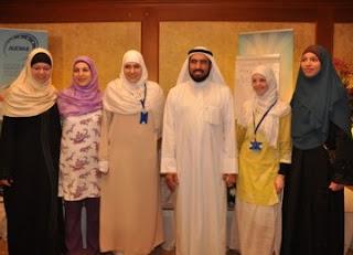 Tokoh agama Kuwait bersama Muslim bangsa Yunani