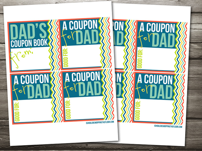 blank coupons