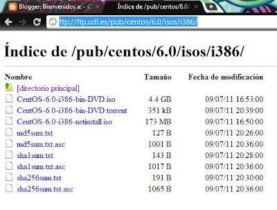 Instalación de CentOS 6.0 i386 (Modo gráfico)