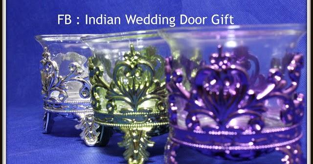Indian Wedding Door Gift: Candle Holder
