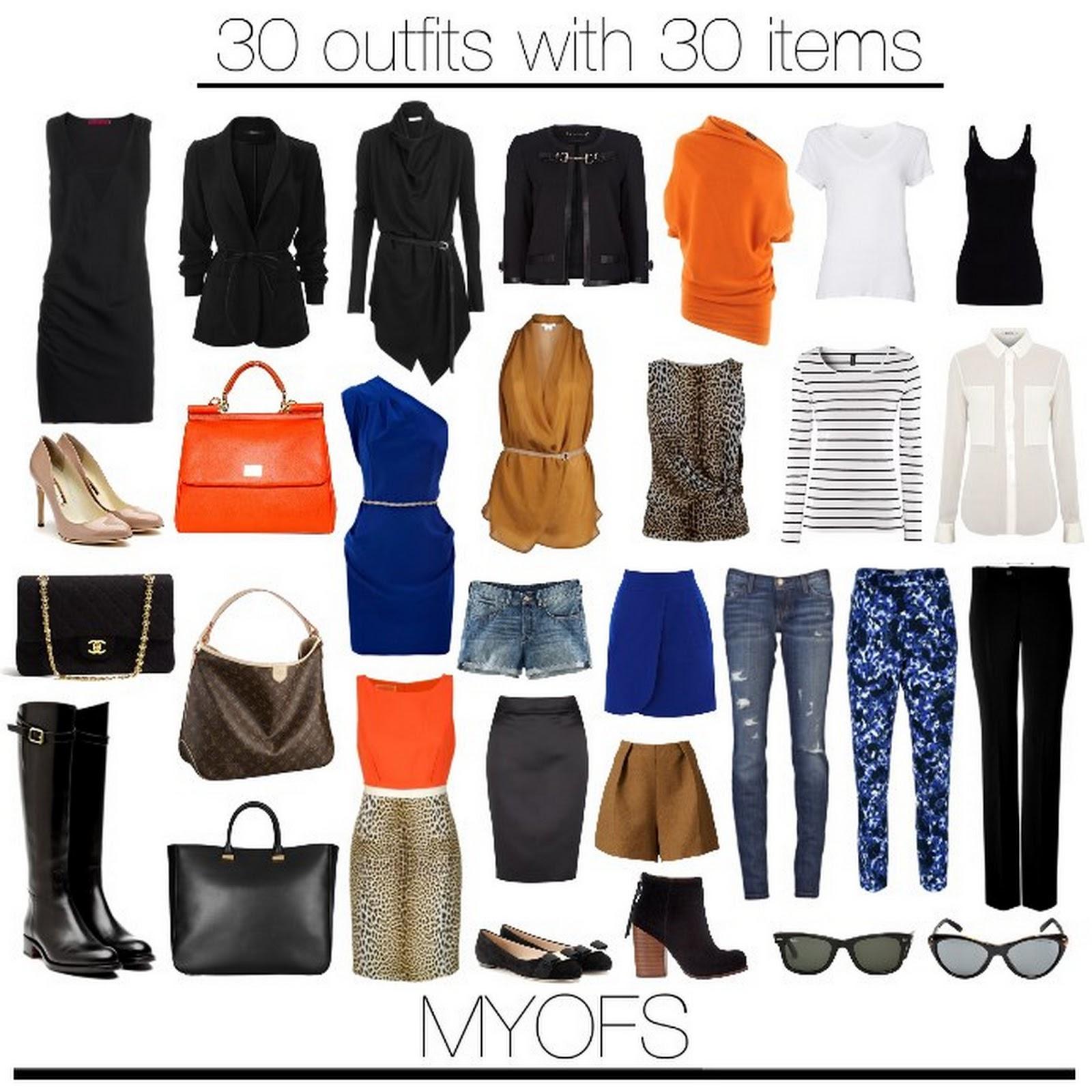 List of fashion items 35