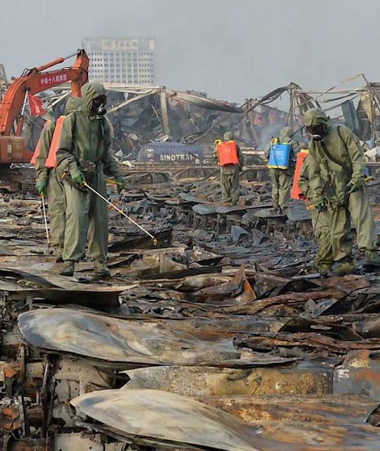 Até hoje o local está contaminado e inacessível aos antigos moradores.